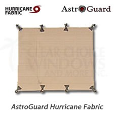 Hurricane protection fabric