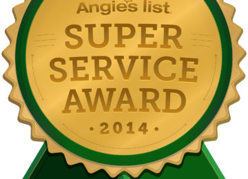 Clear Choice Windows and More has earned the service industry's coveted Angie's List Super Service Award, reflecting an exemplary year of service provided to members of the consumer review service in 2014.